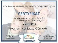 Polska Akademia Stomatologii Dziecięcej  i akcja